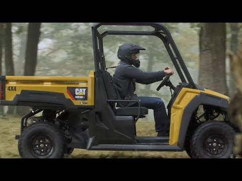 Cat® Utility Vehicle Overview