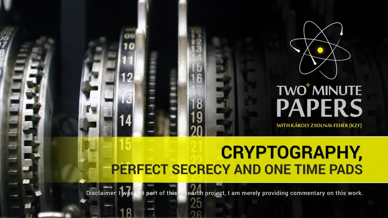 cryptography research papers