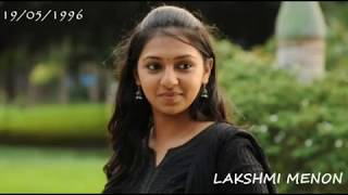 Lakshmi Menon Tamil Movie List...!!!