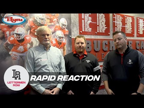 Rapid Reaction: Ryan Day, Buckeyes still hurting, already building for 2020 run