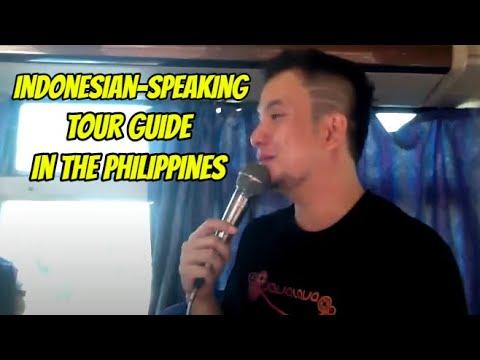 Bahana Indonesia speaking tour guide in Manila