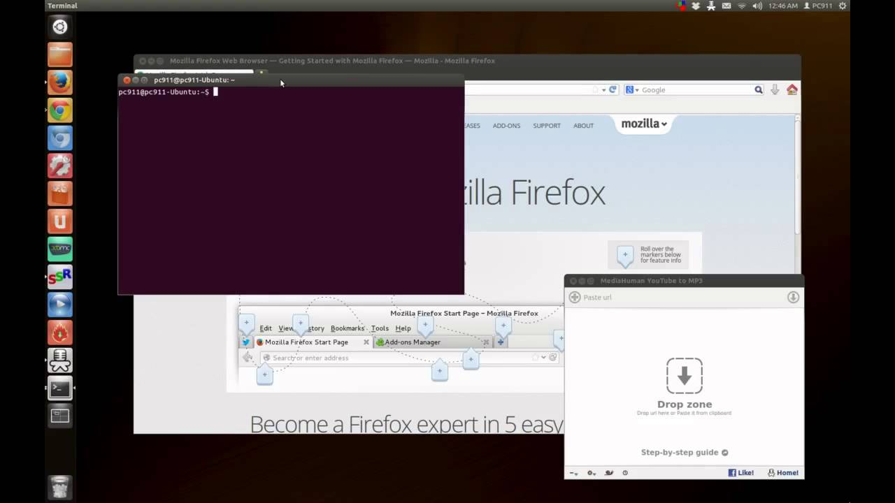 The simple way to close a frozen window in Linux Ubuntu