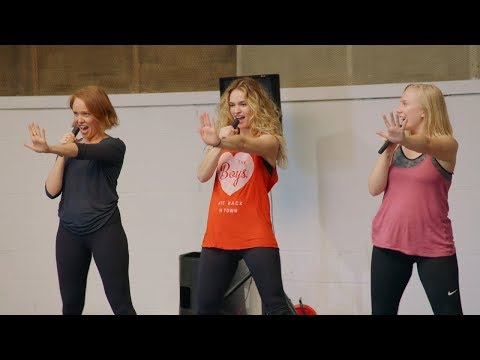 MAMMA MIA! 2 Here We Go Again Dynamos Bootcamp  Featurette