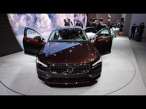 New V90 wagon is the natural evolution of the new Volvo