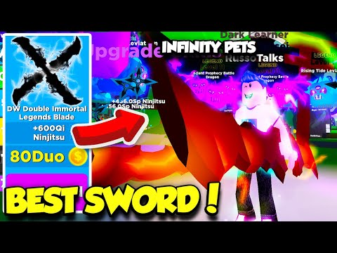 I Got The Best New Weapon And Rarest Infinity Legend Pets In - best player in roblox pet simulator