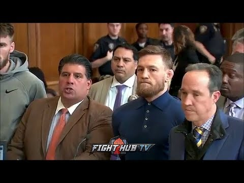 CONOR MCGREGOR CHARGED IN COURT FOR BROOKLYN MELEE! MUST PAY 50K FOR BAIL!
