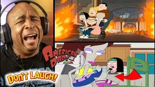 Roger's Most Inappropriate Moments - Try Not To Laugh Challenge American Dad #7