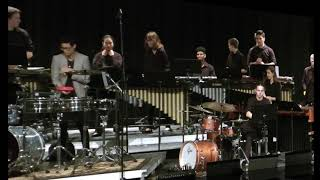 3-2-18 Birdville Percussion Concert, 2nd half, with Tony Succar