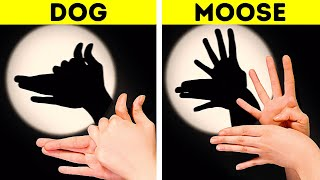 30 SHADOW SHOWS AND MAGIC TRICKS FOR YOUR KIDS AND FRIENDS