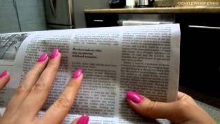 Download *Whisper* NY Times newspaper article reading Mp3 and Videos
