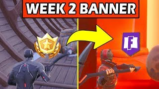 SECRET BANNER WEEK 2 SEASON 8 LOCATION! - Fortnite Battle Royale– SECRET BATTLE STAR WEEK 2 REPLACED