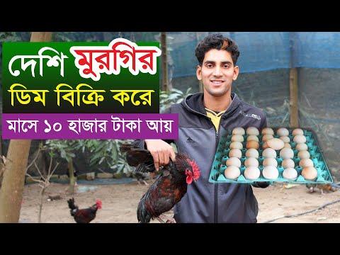 দেশি মুরগির ডিম বিক্রি করে মাসে ১০ হাজার টাকা আয় | Desi Murgi Palan | Desi Murgi Egg Poultry Farm