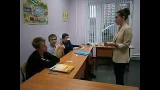 Фрагмент урока в First Decision - октябрь 2013 г., 14 лет, Beginner / English in Mind Starter