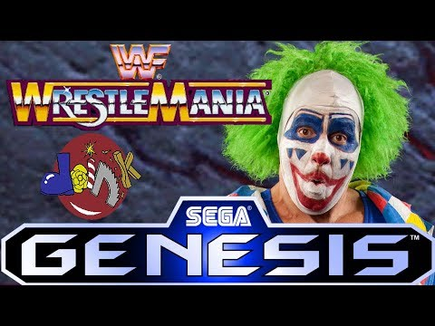 WWF Wrestlemania: The Arcade Game GENESIS - Doink the Clown - Intercontinental Title (1080p/60fps)