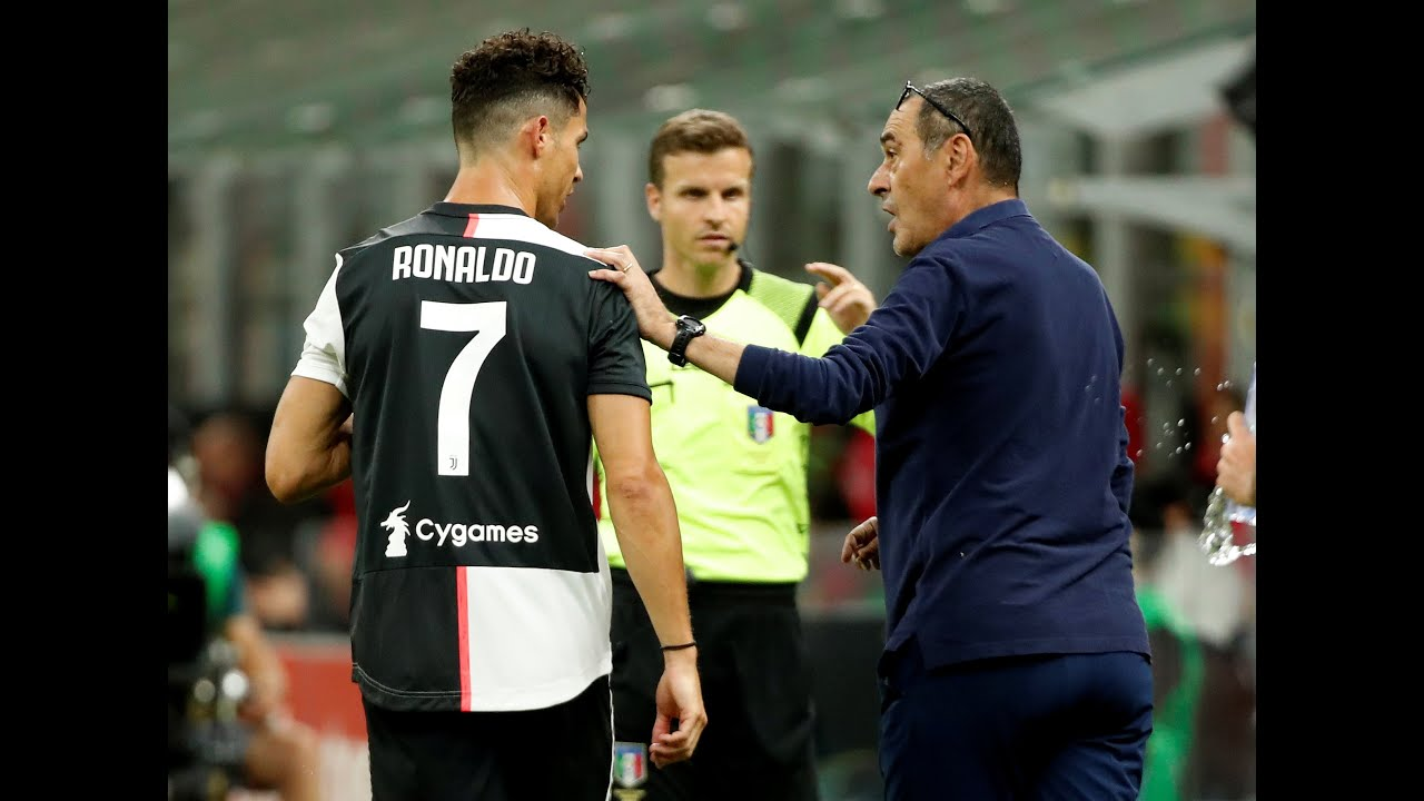 يوفنتوس يقيل ماوريتسيو ساري 👋 وماهي حظوظ بقاء كريستيانو رونالدو باليوفي؟