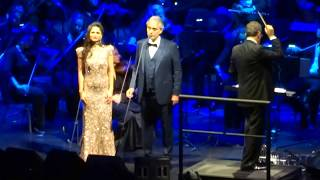 Andrea Bocelli - Time To Say Goodbye - Cleveland - 12/1/17