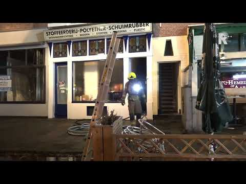 brand Oostzeedijk-Beneden in Rotterdam - video Duivestein
