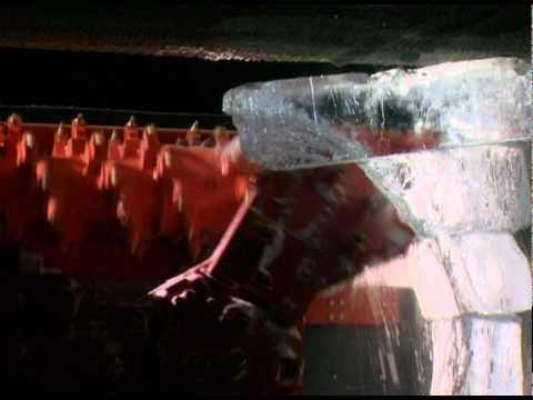 Sandvik Mining ice cutting