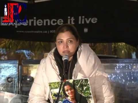 Breakfast BUZZ @ Brampton Candle Light Vigil For New Delhi - India Rape Victim