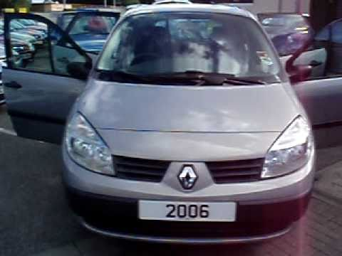 WIRRAL SMALL CARS2006 RENAULT SCENIC 15 Dci