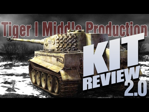 Kit Review: Rye Field Model Tiger I Middle Production w/ Interior in 1/35