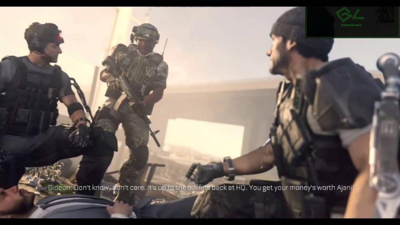 Gideon bitch slaps Mitchell Call Of Duty Advanced Warfare ...