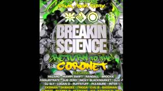 Dj Hazard @ Breakin Science 2014