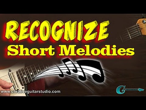 EAR TRAINING: Recognize Short Melodic Sounds