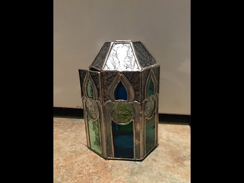 Stained Glass Lantern Construction Demo