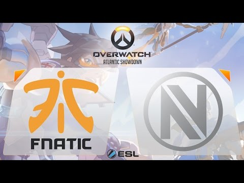 Overwatch - Fnatic vs. EnVyUs - Overwatch Atlantic Showdown - Gamescom Finals - Group A