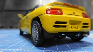 Aoshima 1:24 Honda Beat PP1 plamo build video 4 FINAL