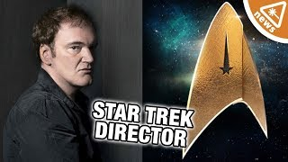 Do We Already Know Quentin Tarantino's Star Trek? (Nerdist News w/ Jessica Chobot)