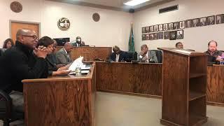City of Canton City Hall Meeting January 7, 2020