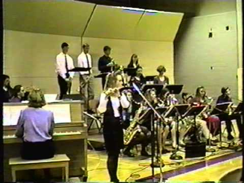 December 13, 1993 Woodward Granger High School Jazz Band at SCIBA