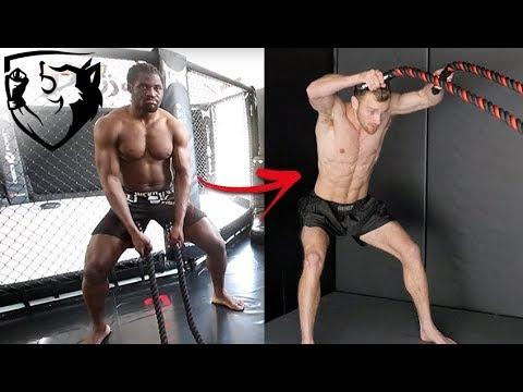 Francis Ngannou's Power Punching Workout Explained!