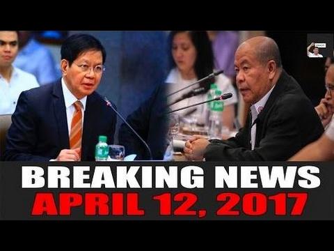 BREAKING NEWS TODAY! APRIL 12, 2017 | Sen. Lacson KAKASUHAN si Lascanas! | SPO3  - Philippines News