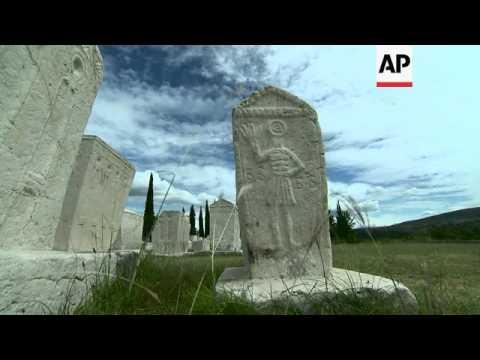 Medieval tombstones get UNESCO World Heritage status