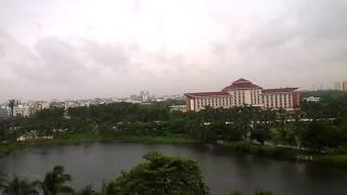 Beautiful Dhaka || A rainy Day || Beautiful Road of Dhaka