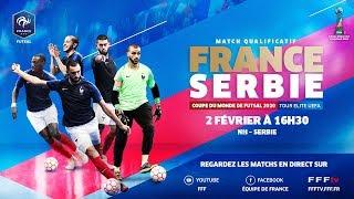 Futsal France Serbie 2 4 le replay I FFF 2019 2020