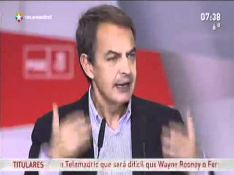 Zapatero versus Pinocho