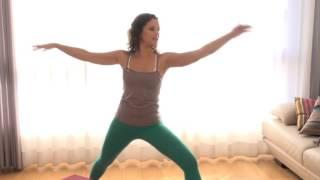 Йога для мышц ног и ягодиц- особенно для женщин!(Утренняя йога на 9 канале. Ведущая Юля Глускина Видео предоставлено 9 каналом., 2015-09-19T19:39:38.000Z)