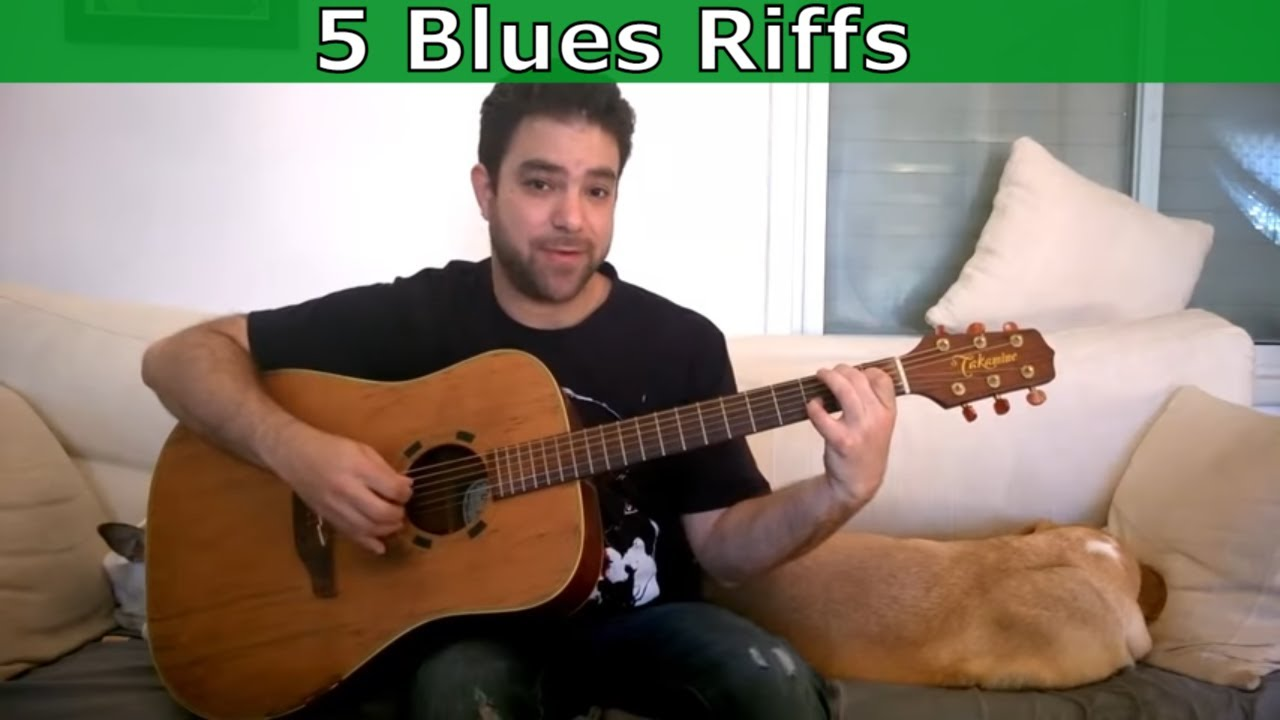 5 Awesome Fingerstyle Blues Riffs You Can And Should Steal