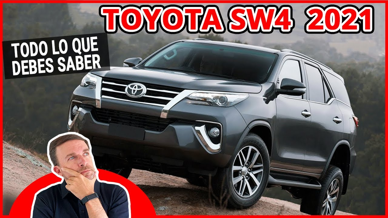 Toyota FORTUNER 2021 SW4 2021 todo lo que DEBES SABER
