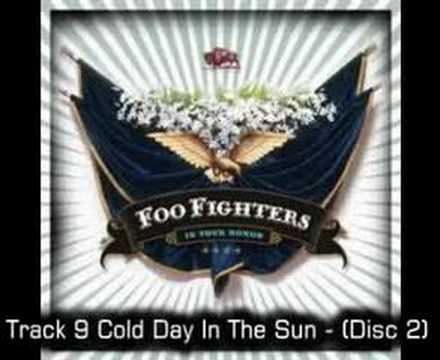 Foo Fighters - Cold Day In The Sun