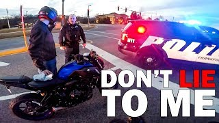 ANGRY & COOL COPS vs BIKERS | POLICE vs MOTORCYCLE  |  [ Episode 128]