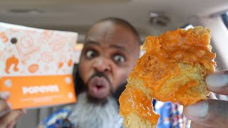 NEW Popeyes Buffalo Ranch Chicken Tenders | HIT or MISS ?!?!