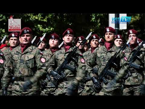 WIS TV TRUMP and Polish Armed Forces Day Hell March