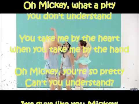 Hey Mickey! - Sweet California (LETRA)