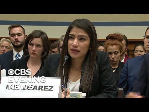 Migrant mother gives moving testimony about daughter who died