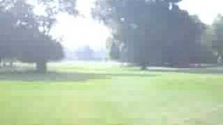 Mark golfs at Indian Boundary